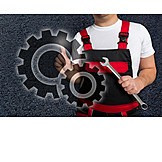 Job & Profession, Gear, Craftsman, Mechanic, Fitter