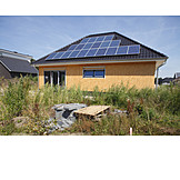 Alternative Energy, Solar House, Solar Roof