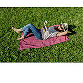 Woman, Leisure, Relaxation & Recreation, Reading