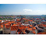 Luftbild, Altstadt, Meißen