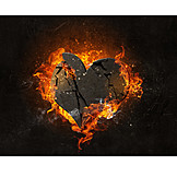 Heart, Lovesickness, Burning, Jealousy, Broken