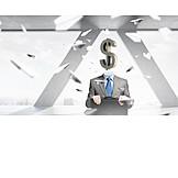 Finanzen, Dollarzeichen, Finanzberater