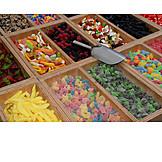 Sweets, Window Display, Weekly Market, Sweets
