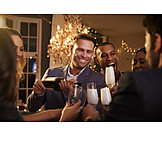 Nightlife, Pouring, Champagne, Champagne Reception