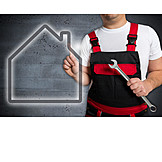 Service, Craftsman, Janitor