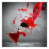 Modern, Creativity, Ballet dancer, Dancer