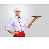 Gastronomie, Servieren, Koch