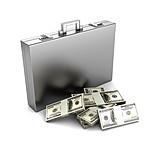 Money, Dollar, Money Suitcase