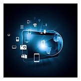 Media, Encryption, Data