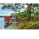 Sweden, Holiday villa