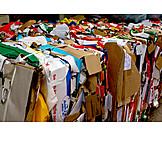 Pappe, Altpapier, Großhandel, Papierrecycling