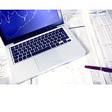 Money & Finance, Stock Exchange, Economy, Laptop, Stock Price