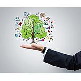 Handel, Geschäfte, Erfolgreich, Geldbaum