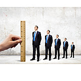 Businessman, Growth, Progress, Success, Ambition, Measuring