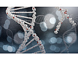 Genetic Research, Double Helix, Medical Illustrations