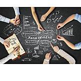 Teamarbeit, Management, Brainstorming