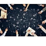 Cooperation, Organization, Teamwork, Contact, Management, Social Network