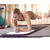 Push ups, Core, Training