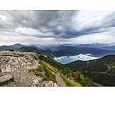 Kochelsee, Light moods, Alps