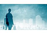 Business, Finanzen, Steigend