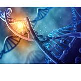 Forschung, Biochemie, Dna