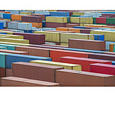 Logistics, Cargo Container, Freight Transportation