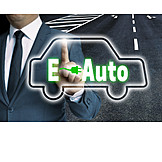 Alternative Energie, Autoindustrie, Elektroauto