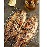Fischspeise, Grillfisch