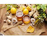 Honey, House Appropriations, Ginger, Alternative Medicine, Lemon