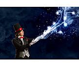 Leisure & Entertainment, Magician, Illusion, Perform Magic, Magic