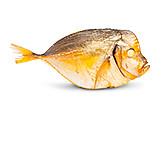 Smoked, Prepared Fish