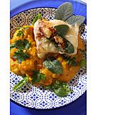 Squash, Prepared Fish, Fish Dish
