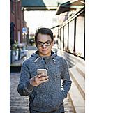 Teenager, Smartphone