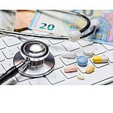 Arznei, Zuzahlung, E-health