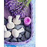 Wellness & Relax, Entspannung, Kräuterstempel
