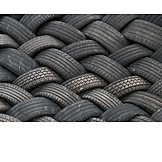 Recycling, Tires, Old Tires