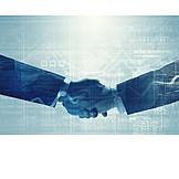 Handshake, Business Partnership, Deal