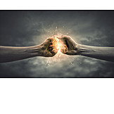 Energy, Strength, Duel, Power Struggle