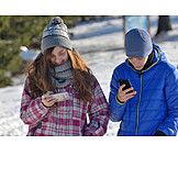 Teenager, Sms, Smartphone