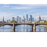 Skyline, Frankfurt, Financial District