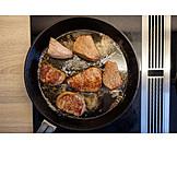 Meat, Roast Dinner, Pan, Beef, Beef Fillet