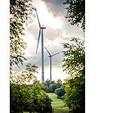 Wind Power, Alternative Energy, Windpark