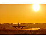 Sun, Flight, Landing