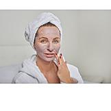 Woman, Beauty Culture, Facial Mask