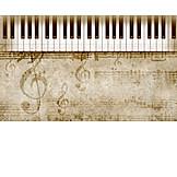 Music, Scores, Clavier