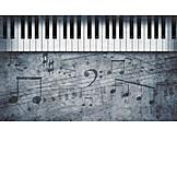 Music, Scores, Piano Key