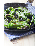 Bell pepper, Pimientos de padron