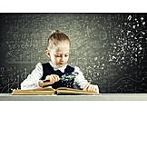 Kind, Mädchen, Lernen, Intelligent, Wunderkind