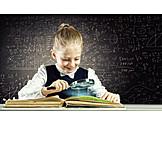 Kind, Mädchen, ökologie, Zukunft, Lernen