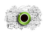 Job & Profession, Coffee Time, Project, Graphic, Mind Mapping